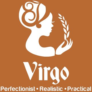 Chipakk Virgo Zodiac Decal - White (Small)