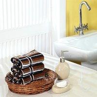 Furhome Cotton Hand Towel Set Of 3.TO1715