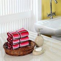Furhome Cotton Hand Towel Set Of 3.TO1716