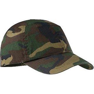 Military Cap Head Wear Hat Cap For Men Women Free Size