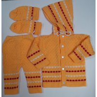 Baby Soft Woolen Suit (3 piece)
