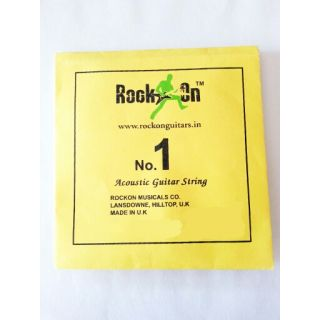 Rockon acoustic guitar string available at ShopClues for Rs.99