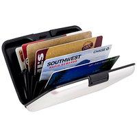 Rust And Water Proof Hard Case Aluminium Wallet Credit Card Holder Debit Card Holder Stylish Hard Case Wallet