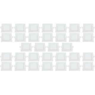 Bene LED 6w Square Panel Ceiling Light Color of LED White Pack of 32 Pcs