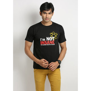 Weardo I'M Not Insane Round Neck Men's T-Shirt