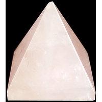 Rose Quartz Pyramid (23 X 23 MM)