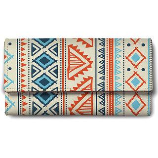 Vector Tribal Ethnic Pattern Ladies Wallet