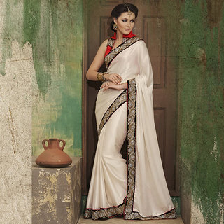 IshiMaya OffWhite Designer Party wear Saree