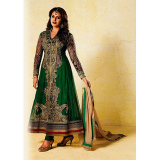 IshiMaya Green Designer Anarkali Suit Design 2