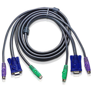 Aten PS2 KVM Cable 2 Mtrs