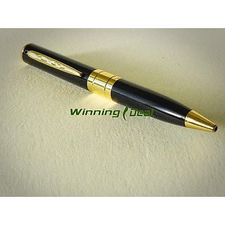 Pen Camera SPY CAMERA USB PEN DRIVE CAMCORDER VOICE VIDEO RECORDER DVR WITH MEMORY CARD SLOT