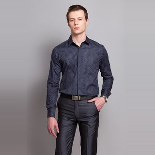 Paneled Shirt With Conceal Placket Design 2