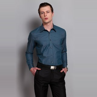Striped Shirt With Inbuilt Pocket At The Front Design 1