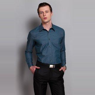 Striped Shirt With Inbuilt Pocket At The Front Design 1