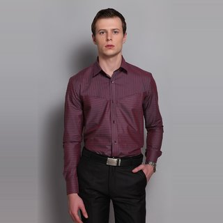 Striped Shirt With Inbuilt Pocket At The Front Design 3