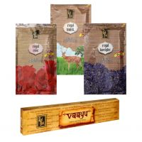 Zed Black Premium Incense Sticks Combo Of Rose, Musk, Lavender  With Free Vaayu Natural Incense Stick Worth Rs 75