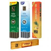 Zed Black Premium Incense Stick Combo Of Attar Rajnigandha,Mathan Gold 100,Attar Phool+Free Vaayu Incense Stick Of Rs 75