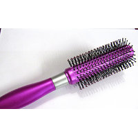 Stylish Round Purple Comb Hair Brush