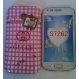New Fancy Designer Silicone Back Case Cover For Samsung Galaxy Star Pro S7262 [CLONE]