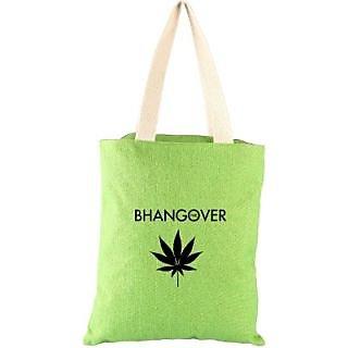 Campus Sutra Women Casual Green Jute Sling Bag CSLJBBOLGRE