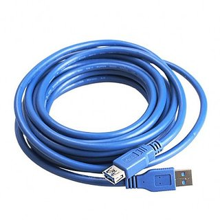 USB 3.0 A Male To Female Extension Data Sync Cord Cable 4.8gbps For PC 10m