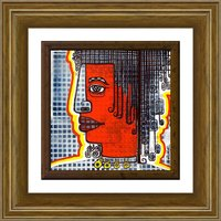 Traditional Indian Figurative Modern Art Mixed Media On Canvas