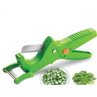 2 in 1 Smart Vegetable Fruit Smart Knife Chopper (Assorted Colour)