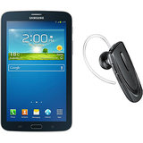 Samsung Galaxy Tab 3 T211 Tablet (Black) with Free Bluetooth