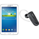 Samsung Galaxy Tab 3 T211 Tablet (White) with Free Bluetooth