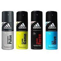 Adidas Set of 4 Deodorant of 150 ml Each