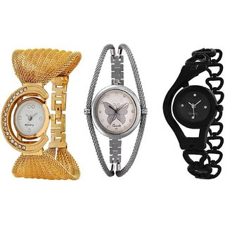 TRUE COLORS ALL In ONE SUPER HIT COMBO ALL TIME HOT SELLING Analog Watch - For Girls