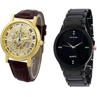 TRUE COLORS BLACK JACK DEAL MR. PERFECT Analog Watch - For Boys