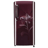 LG 190 L Single Door Refrigerator (Scarlet Liley) - GL-B201ASLN