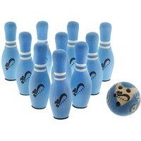 SafSof Jumbo Bowling Pin In Bag JBB-06-1 (10pin Set) Assorted Color