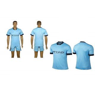 Navex Footbal Jersey Sky Blue Short Sleeve Ket Large