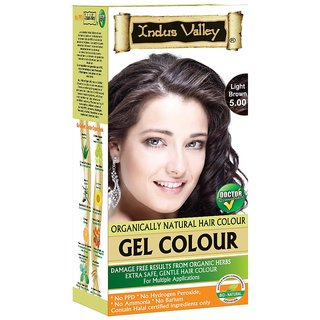 Indus valley Herbal hair color- Light Brown 5.0