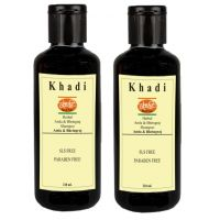 Khadi India Amla  Bhringraj Shampoo (SLS  Paraben Free) 2 Shampoo
