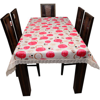 Decor Club Dining Table Cover 6 Seater With Griper Backside