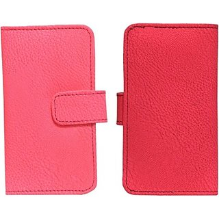 Jojo Flip Cover for Acer Liquid Glow E330 (Bright Pink)