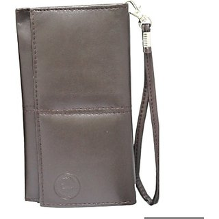 Jojo Pouch for Lava B2 Qwerty (Brown)