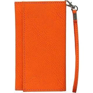 Jo Jo Pouch for Intex Cloud Y4 Plus (Orange)