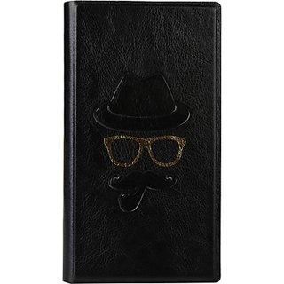 Jojo Wallet Case Cover for Acer Liquid 1 (Black)