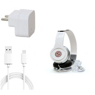 Premium Quality + Proper 1.5 Amp USB Charger + 1.5 meter Copper Embedded USB Cable (Data Transfer + Charging) Motorola G