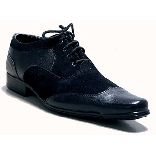 At Classic Best Formal Shoe In Leather And Seude Combination