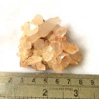 Clear Crystal Quartz Cluster - 74 Gram