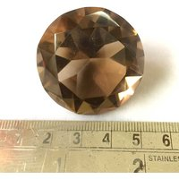 Smoky Quartz Stone In Diamond Shape - 38 X 25 MM