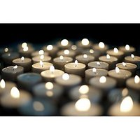 Pack Of 50 White Tealight T-lite Tea Light Candles For Diwali Birthday Party