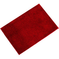 Calibr High Quality Cotton Red Door Mat
