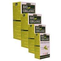 Indus Valley Bio Organic Combo Set Of 4- Herbal Henna Powder