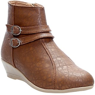 CATBIRD Women Beige Stylish Casual Boots E30-52